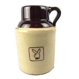 Vintage Playboy Bunny Logo Ceramic Jug Mug